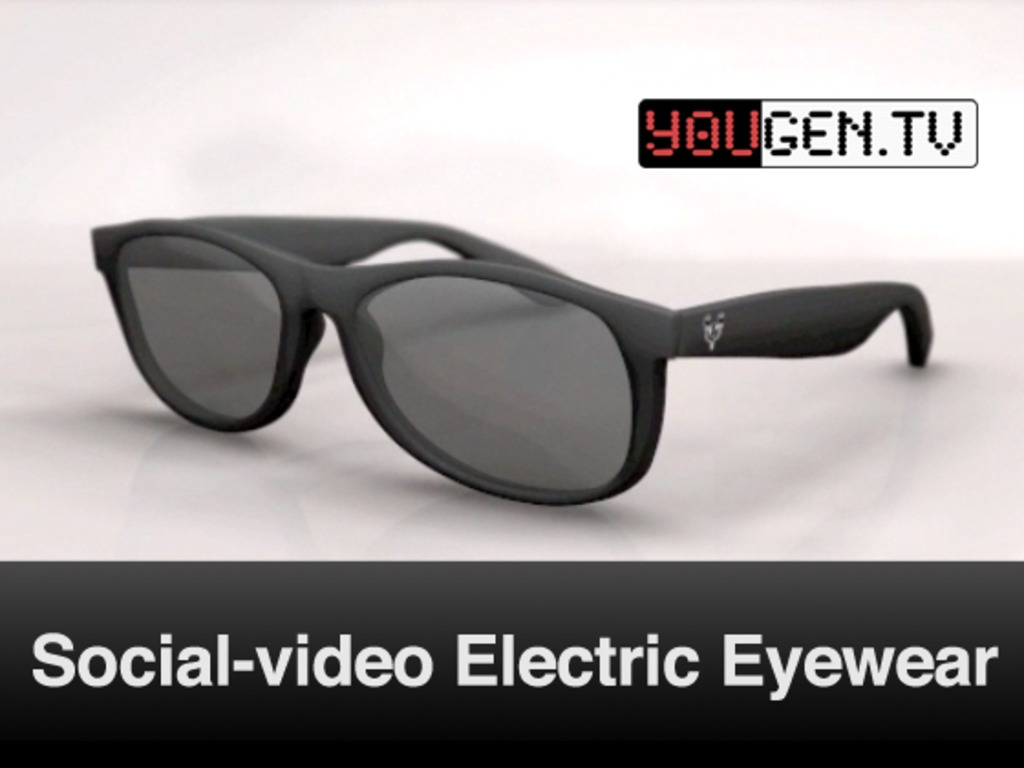 Social Video Eyewear! Turn-On Sunglasses. Redefine Reality! (Suspended)'s video poster
