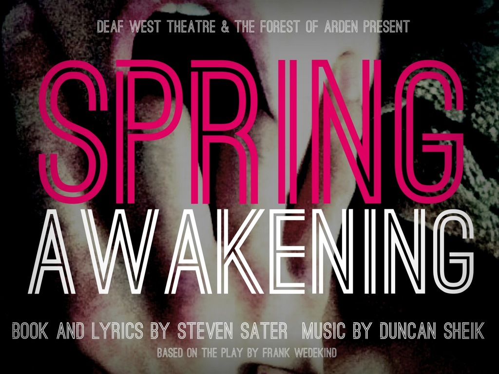 DEAF WEST THEATRE presents SPRING AWAKENING's video poster