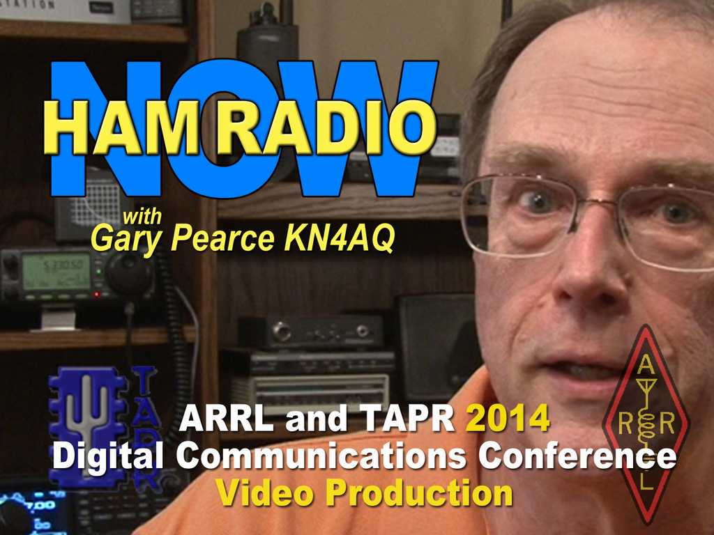 HamRadioNow Video of the 2014 ARRL/TAPR DCC's video poster