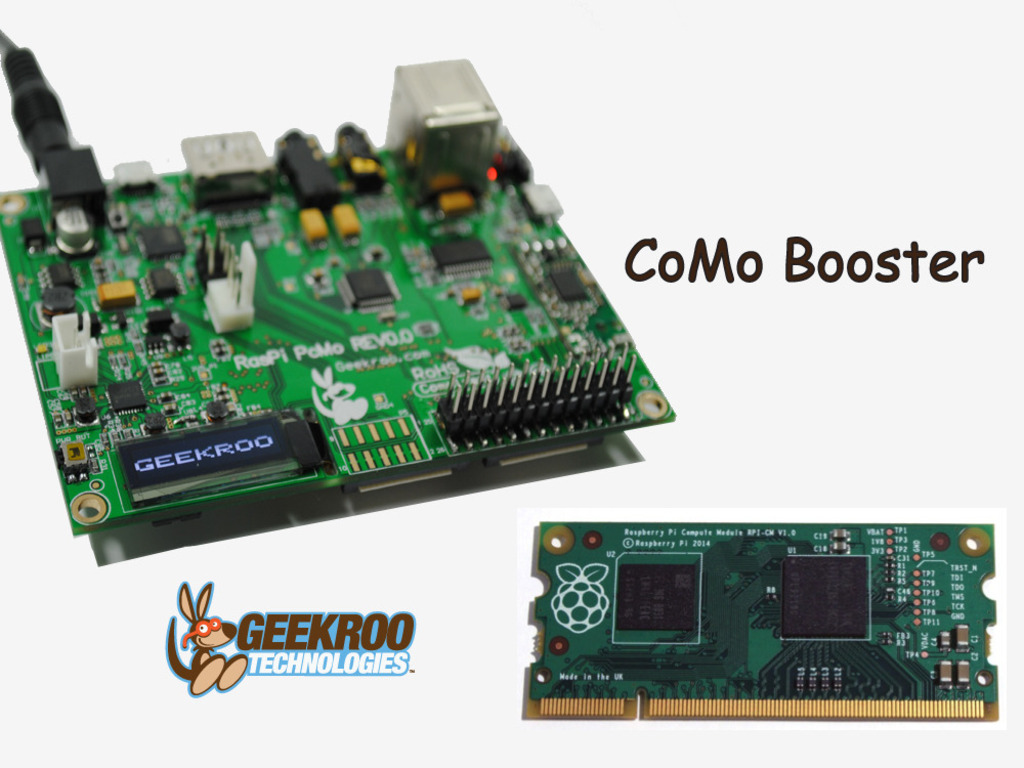 CoMo Booster - Launch your Raspberry Pi Compute Module!'s video poster