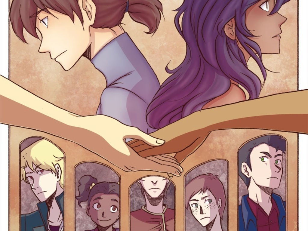 Beyond Beauty, A Graphic Novel's video poster