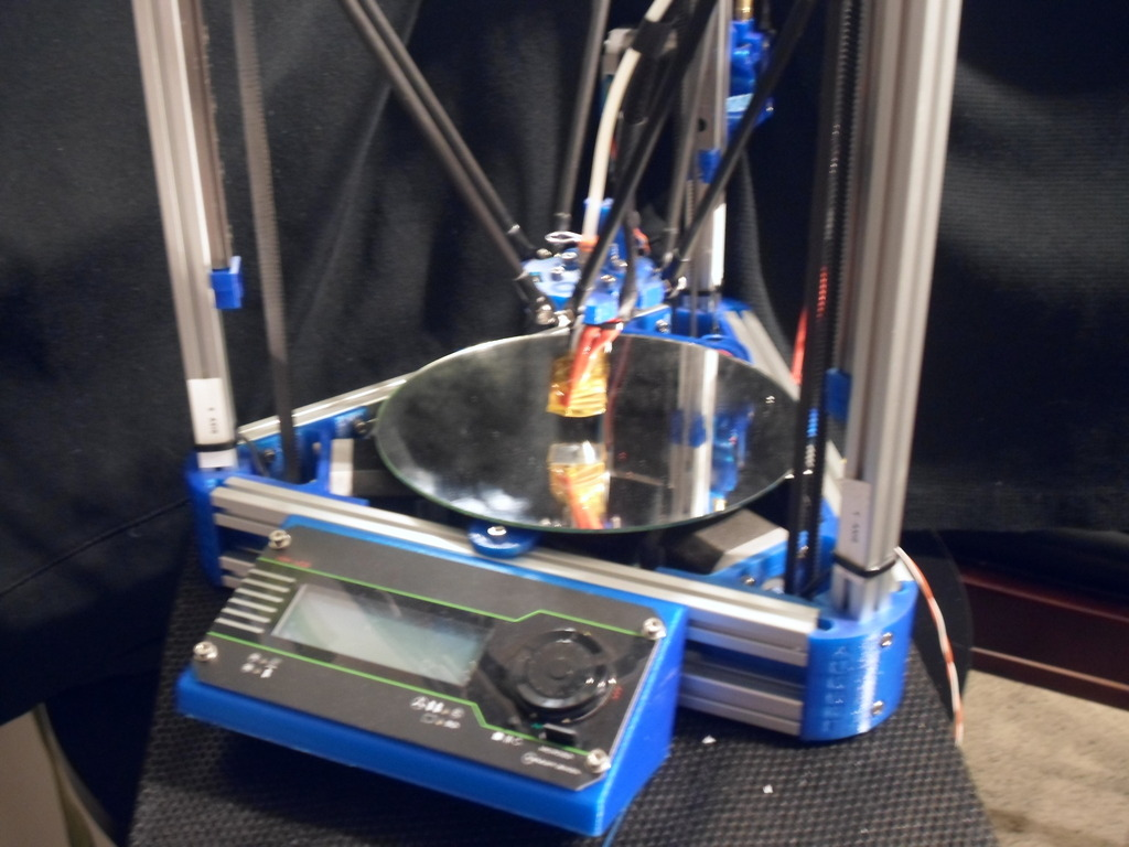 MakerLibre Kossel 3D Printer's video poster