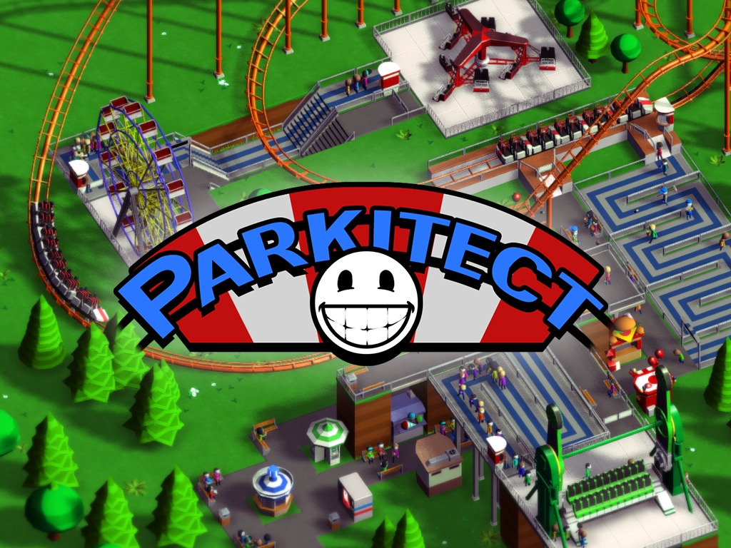 Parkitect's video poster