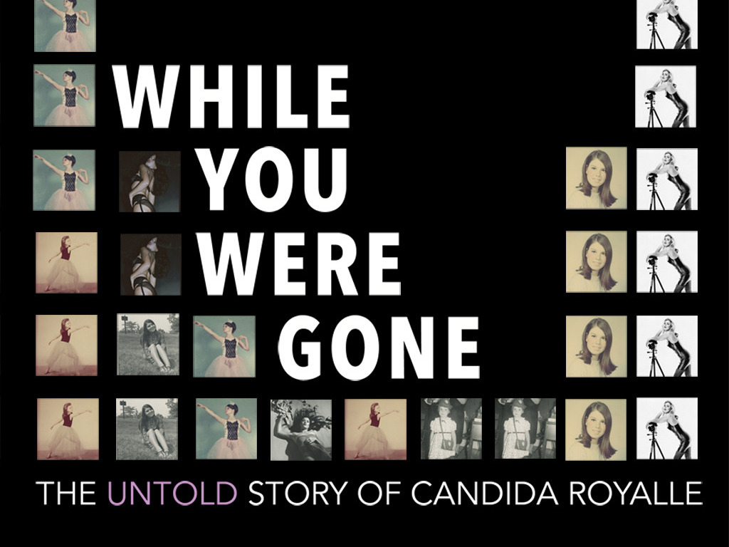 WHILE YOU WERE GONE      The Untold Story of Candida Royalle's video poster