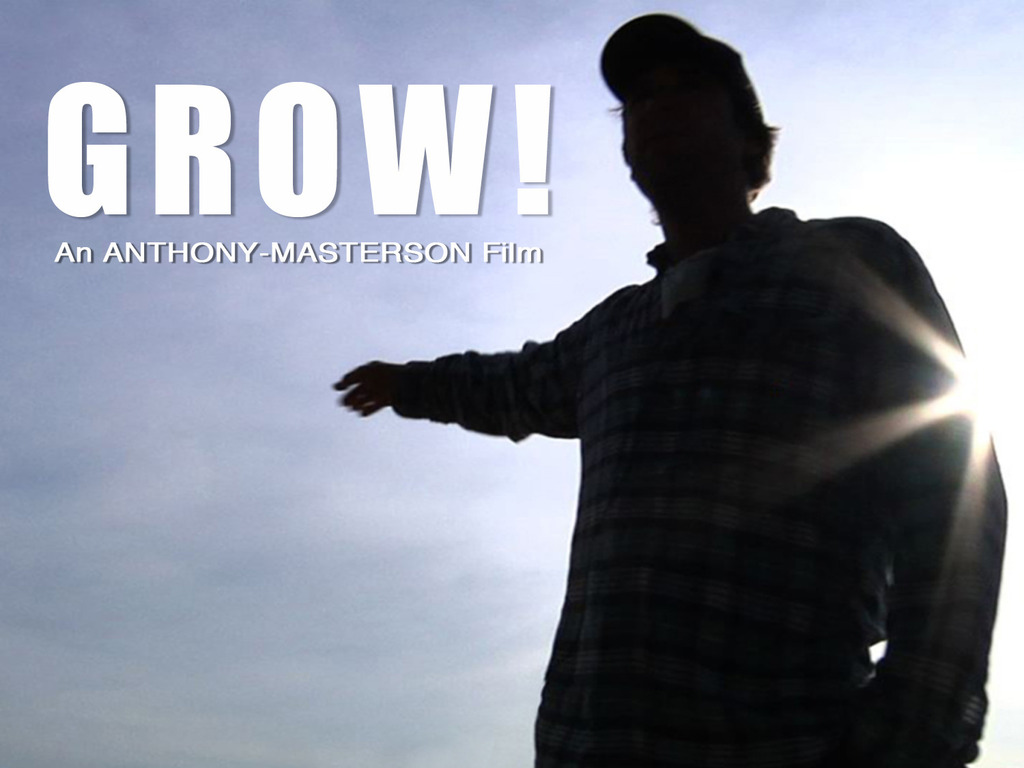 GROW! movie's video poster