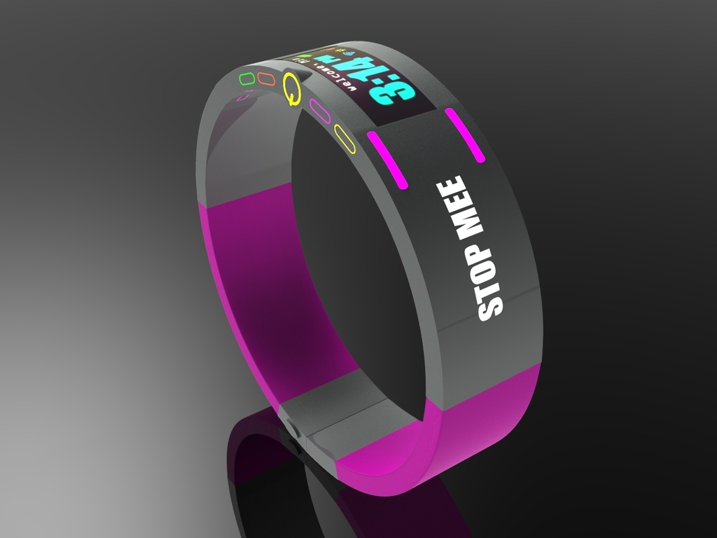 StopMee: First Wearable Band Device that charges via Wi-Fi's video poster