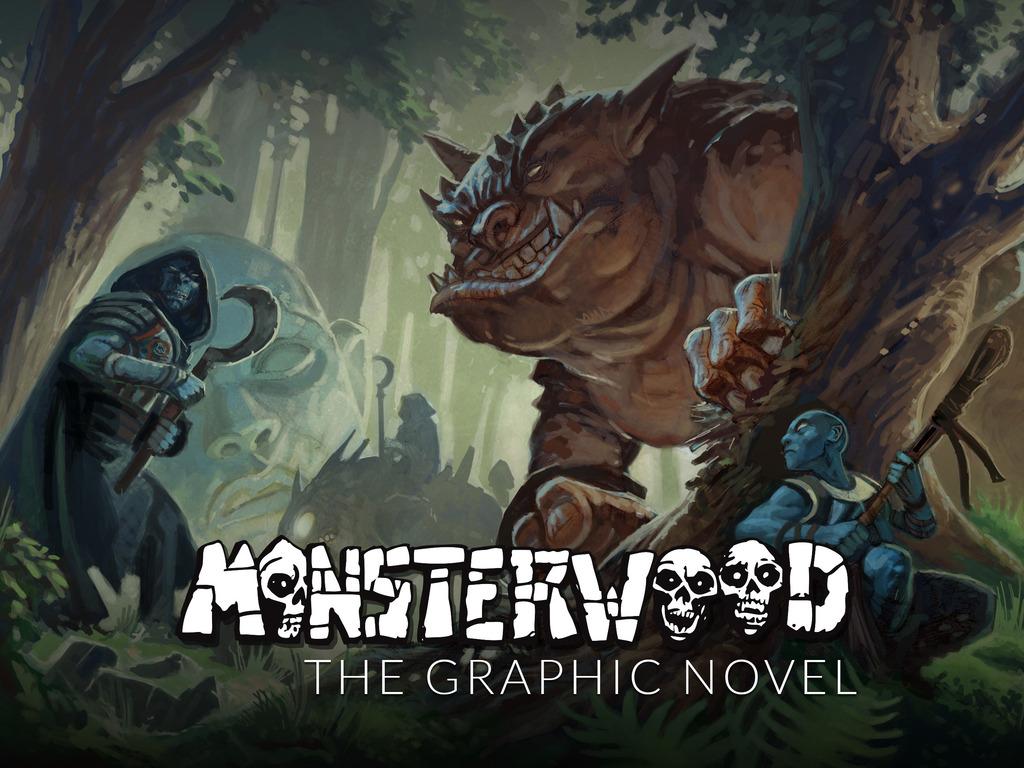 Monsterwood - The Graphic Novel's video poster
