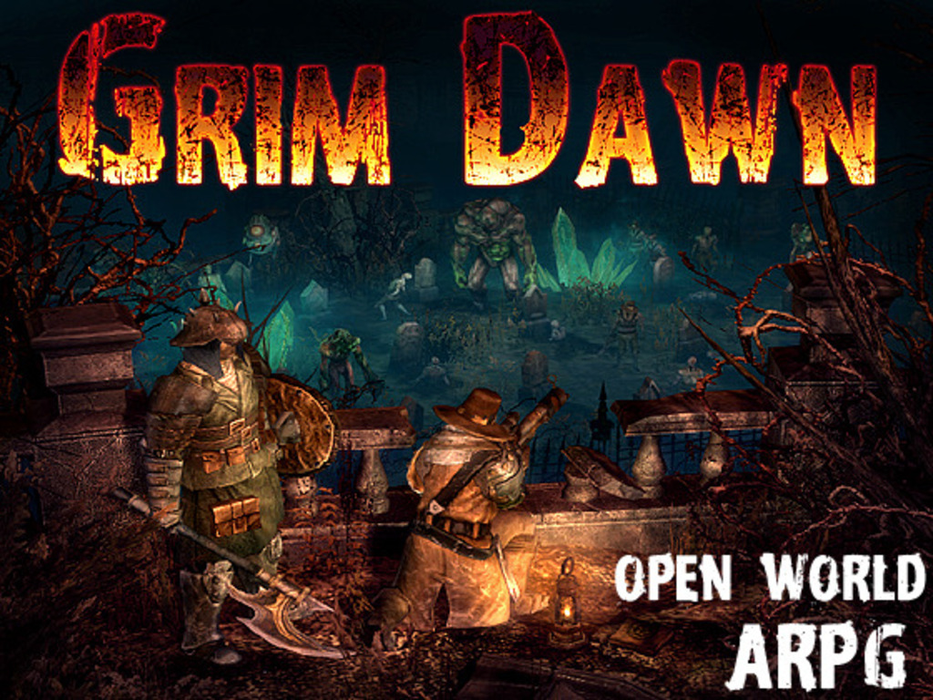 Grim Dawn's video poster