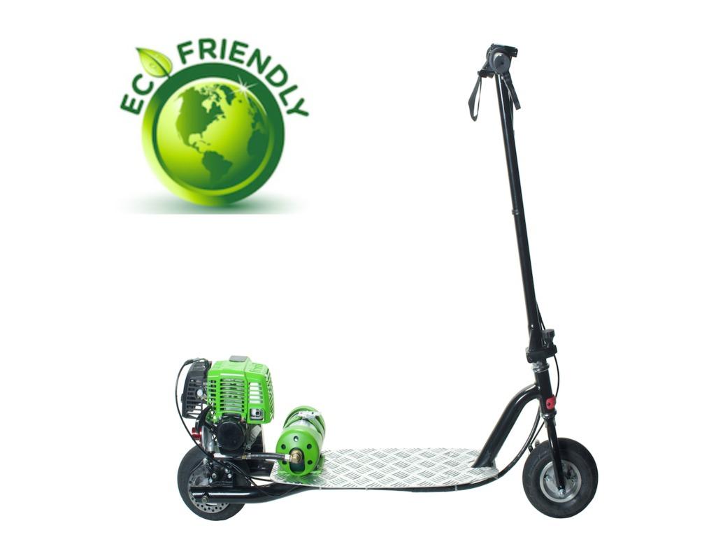 Propane Powered Motor Scooter-Go Clean, Go Green, Go PROGO!'s video poster