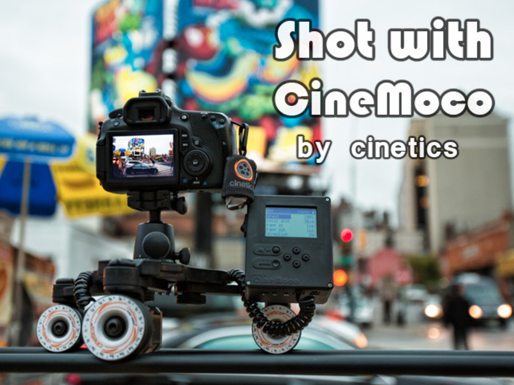 CineMoco ● Motor Control for your Camera's video poster