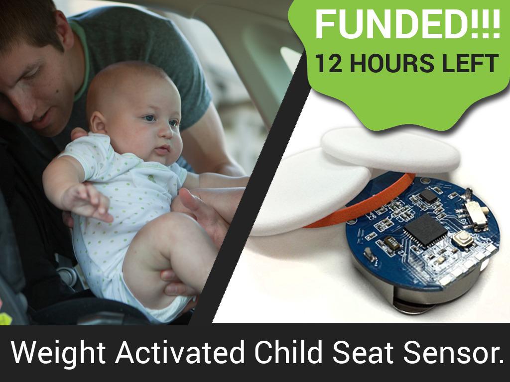 Starfish: Smart Seat Sensor Alerts iPhone of Child in Danger's video poster