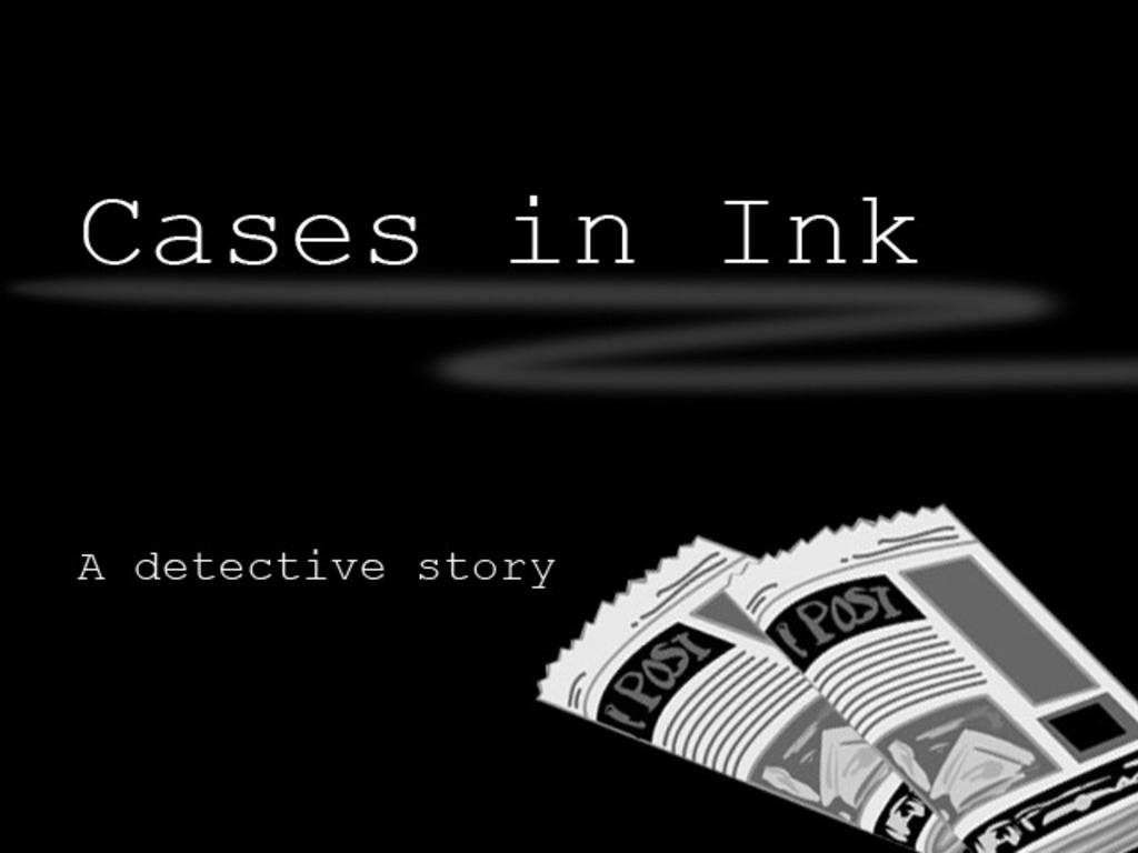 Cases in Ink's video poster