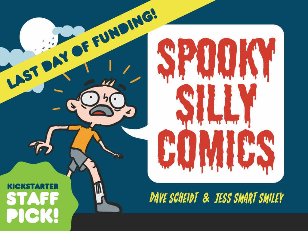 SPOOKY-SILLY COMICS!'s video poster