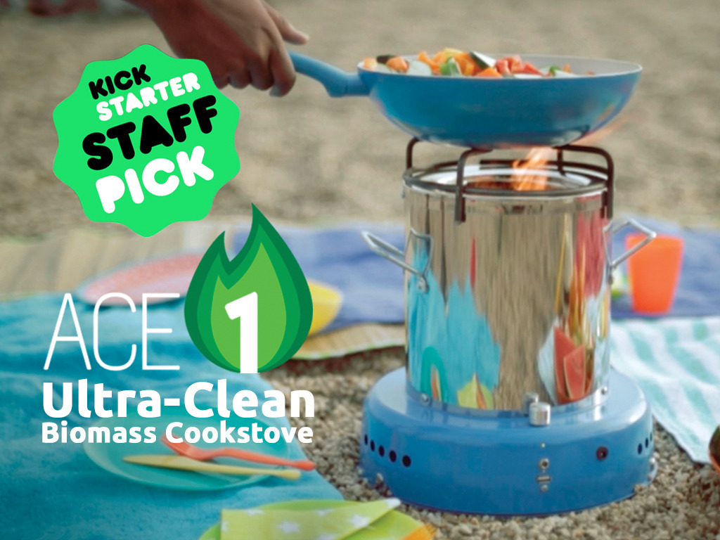 ACE 1 Smoke-Free Stove | Using Solar Power to Gasify Fuel's video poster