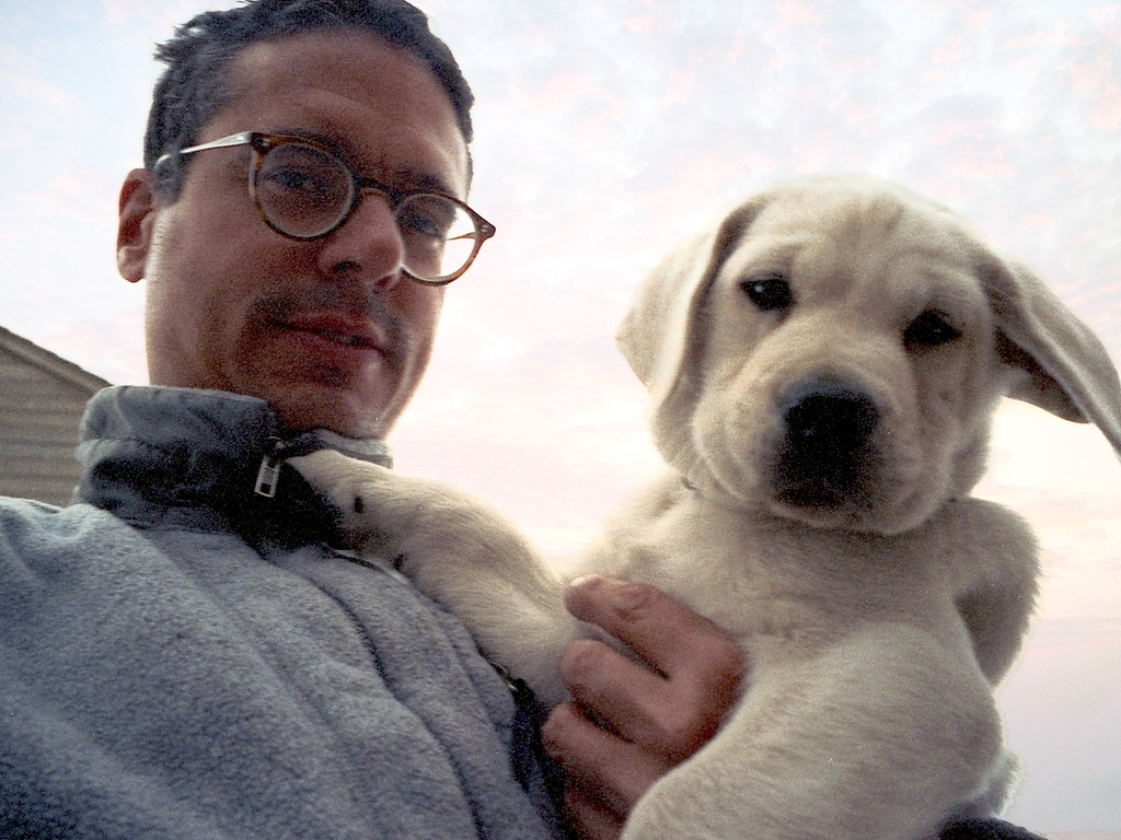 The Dog in the Clouds: a dog memoir in an e-book's video poster