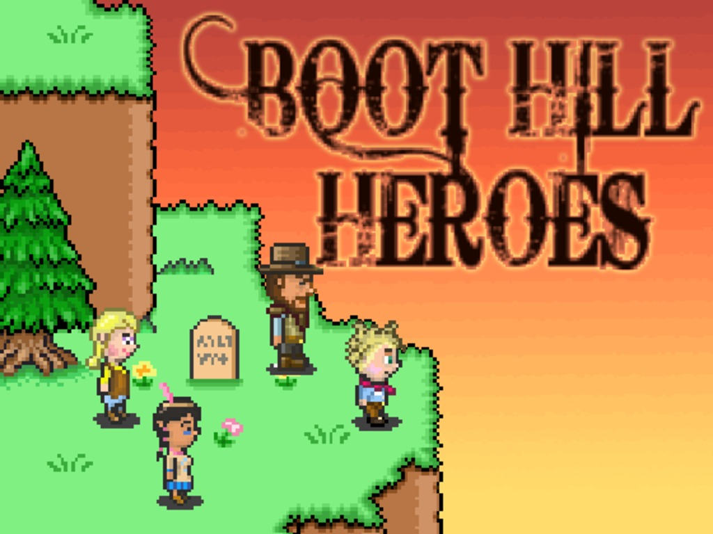 Boot Hill Heroes - Wild West Retro RPG with 1-4 Player Co-op's video poster