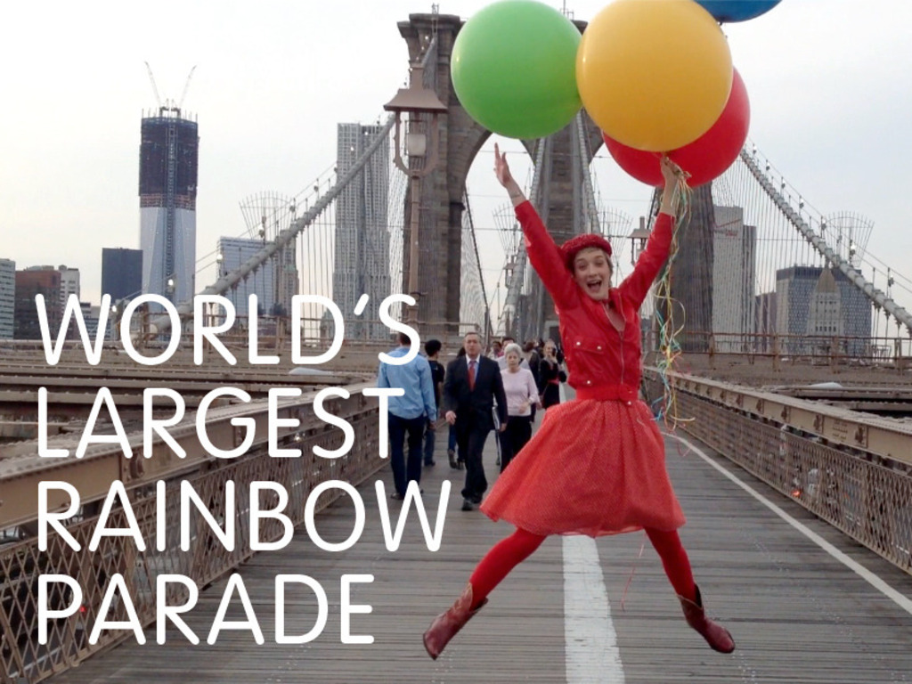 World's Largest Rainbow Parade's video poster