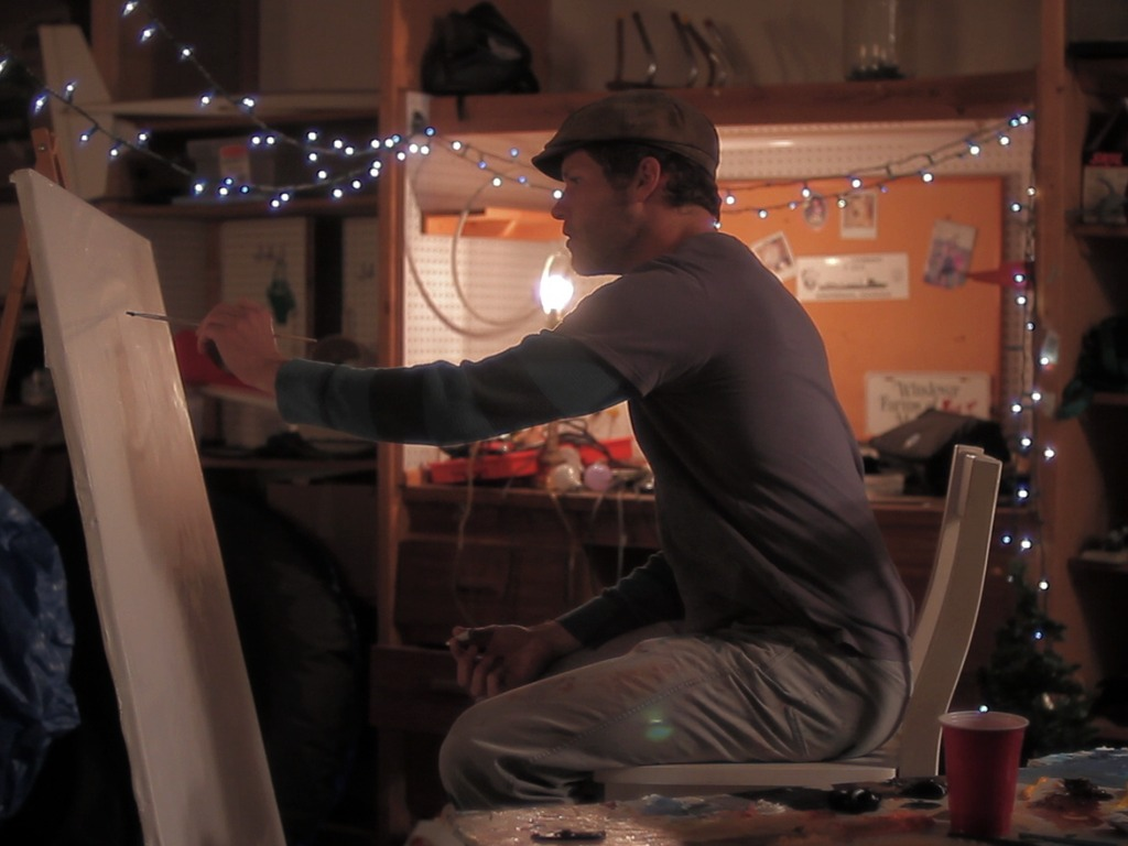 THE MISEDUCATION OF SIMON KRAUS: A feature film made by artists, for artists 's video poster