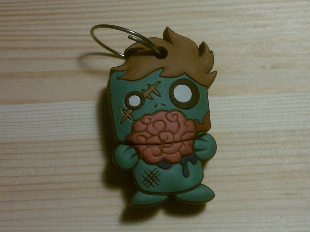 Zombie USB Keychain (Zed 1.0)'s video poster