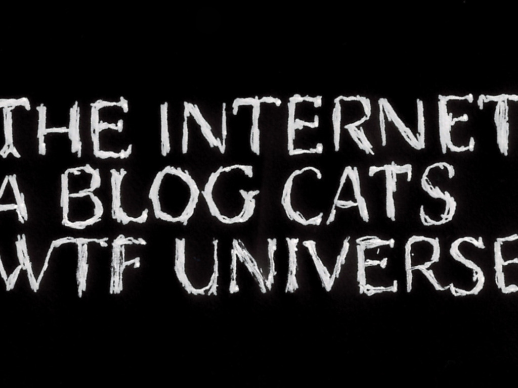 The Internet  - A Blog Cats WTF Universe's video poster