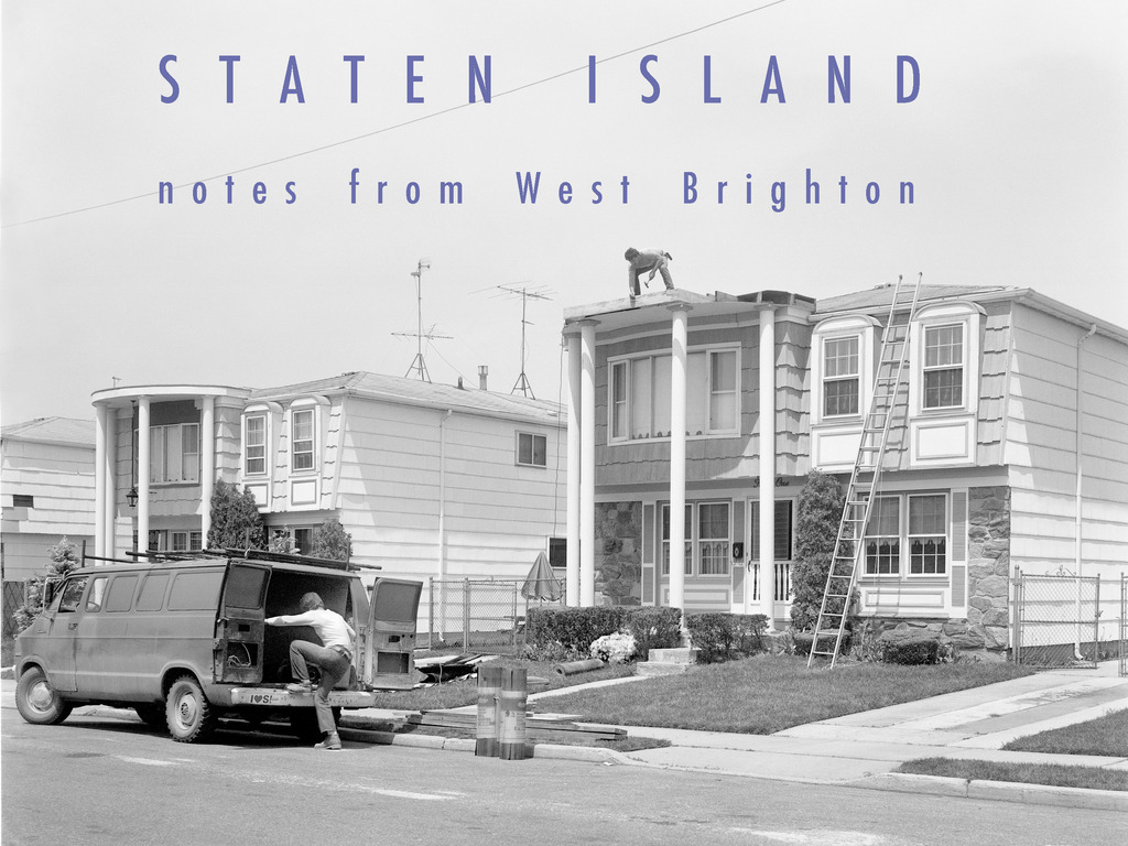 STATEN ISLAND : NOTES FROM WEST BRIGHTON's video poster