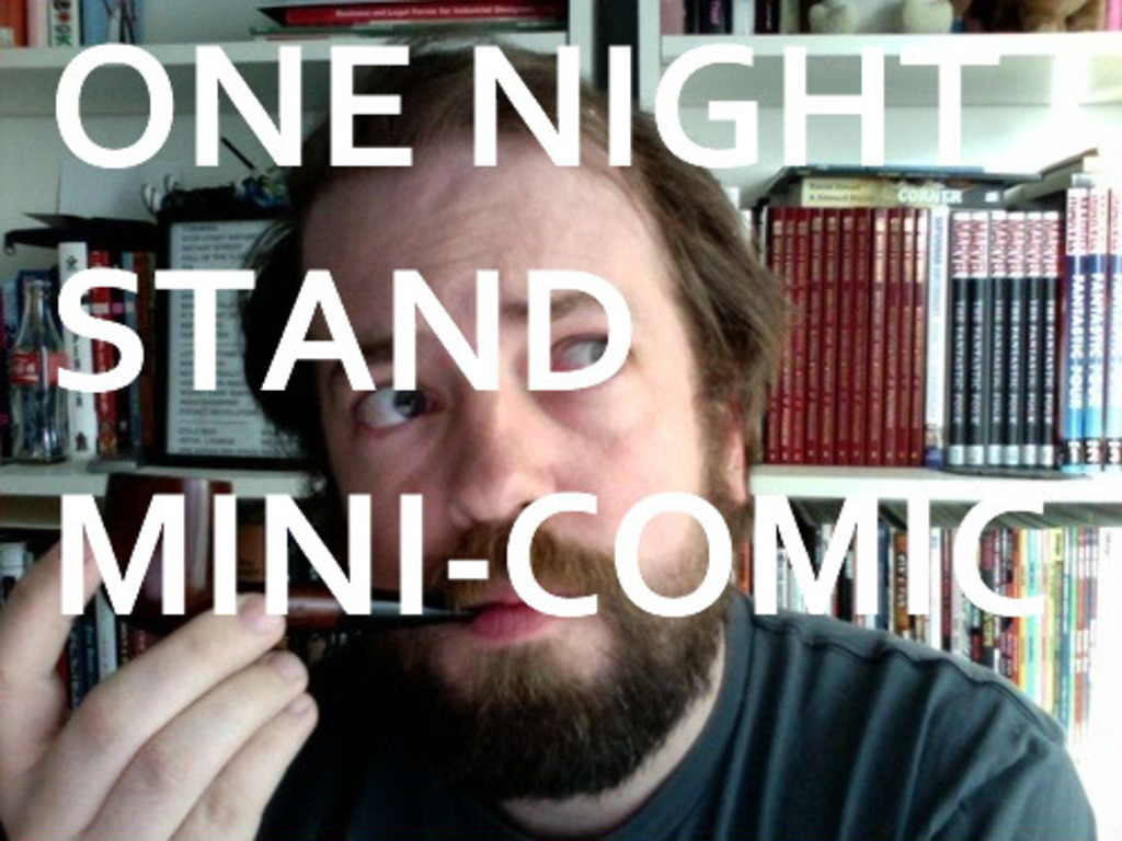 """""""One Night Stand"""" mini-comic and casual encounters with comic book retailers's video poster"""