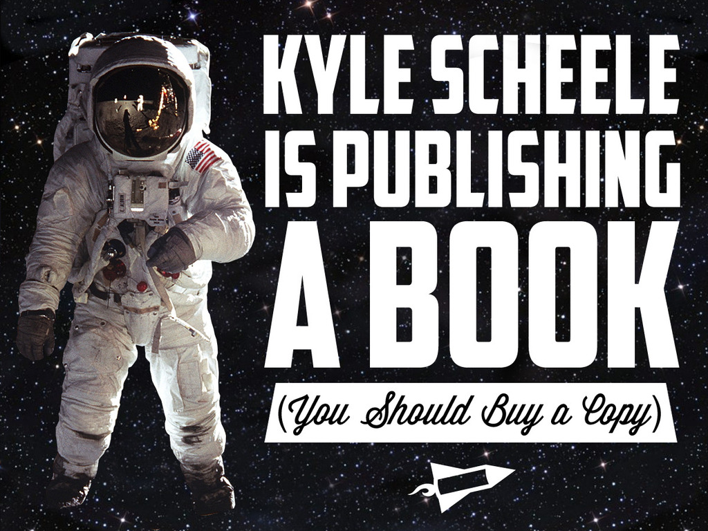 Kyle Scheele is Publishing a Book's video poster