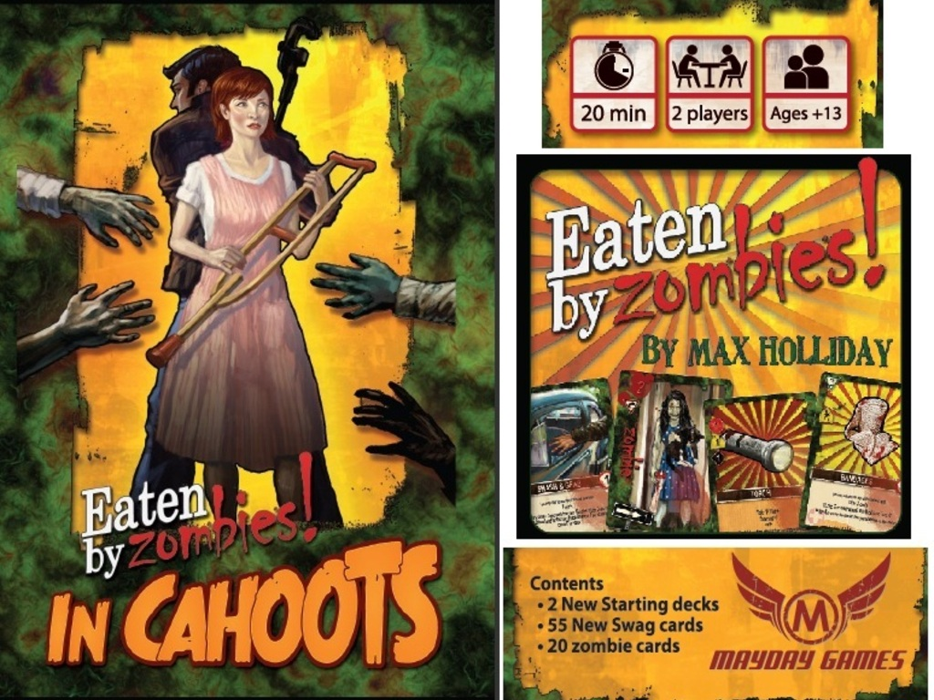 Eaten By Zombies! In Cahoots Deckbuilding To Die For Game's video poster