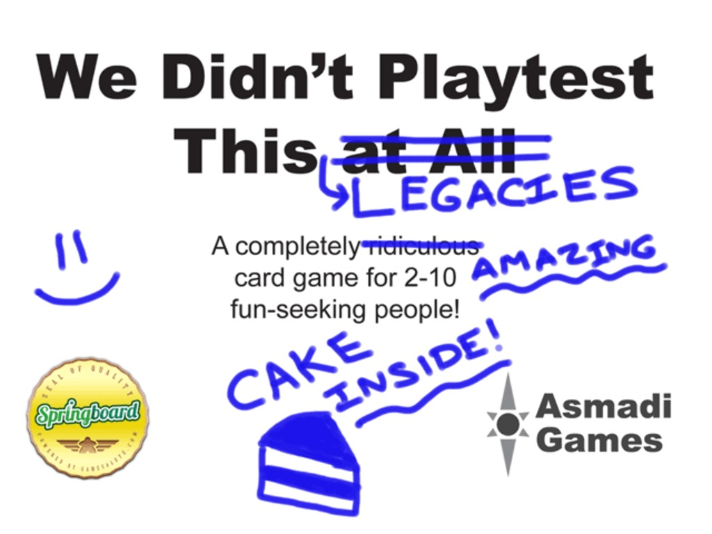 We Didn't Playtest This: Legacies's video poster