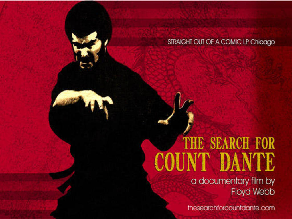 The Search for Count Danté's video poster