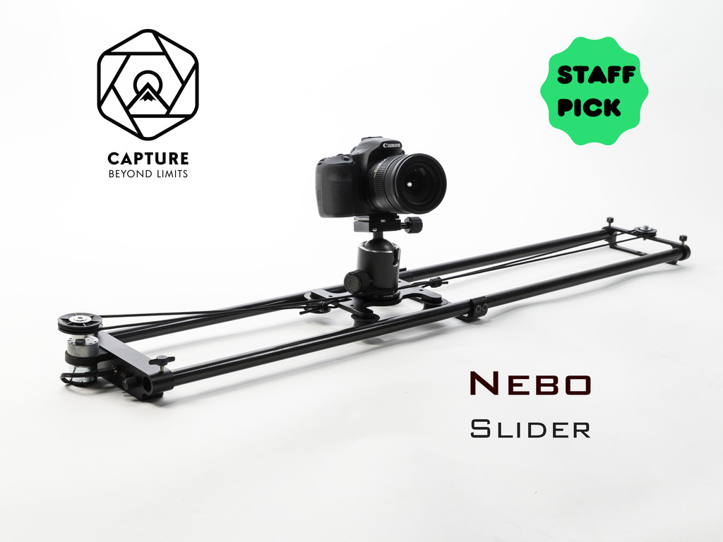 Nebo Motion Controlled Slider: The World's Lightest Slider's video poster