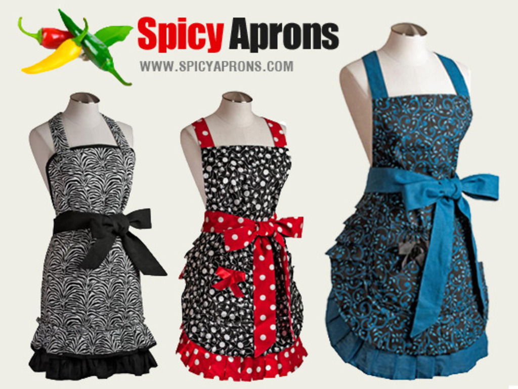 Spicy Aprons Wrap You In Fun, Fashion & Feel Good!'s video poster