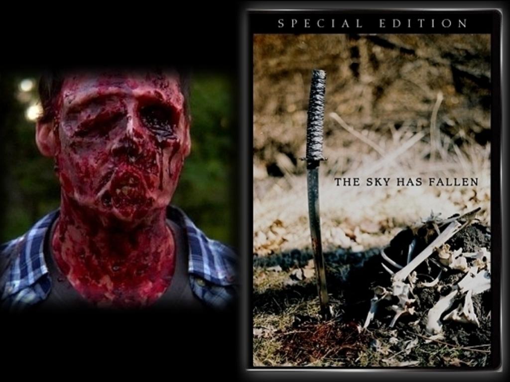 THE SKY HAS FALLEN - New Award-Winning Horror Film's video poster