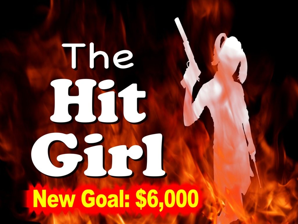 The Hit Girl's video poster