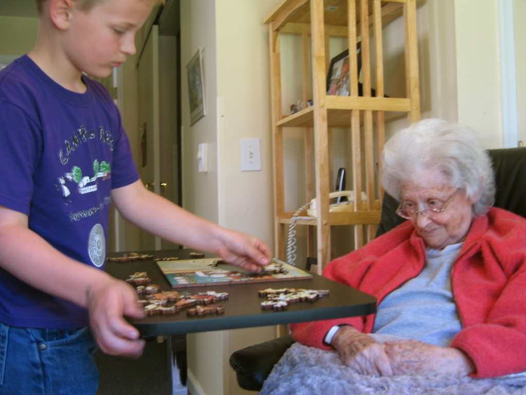 Colorquilts wooden jigsaw puzzle for YOUNG and OLD's video poster