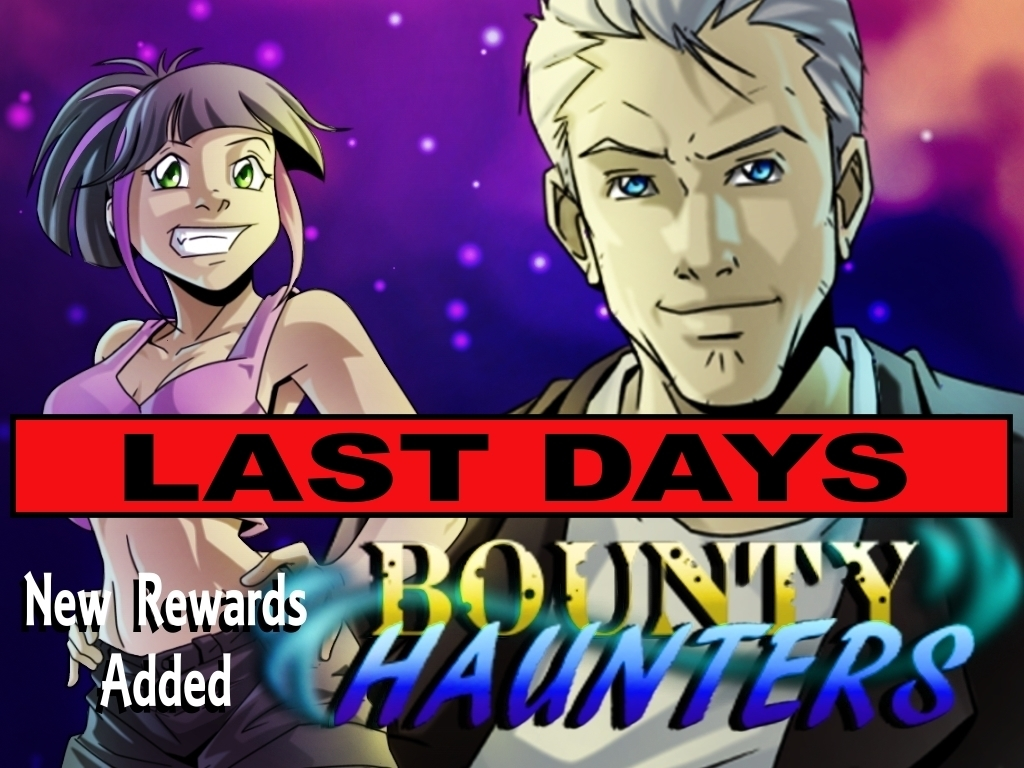Bounty Haunters Book One, A Spirited Adventure's video poster