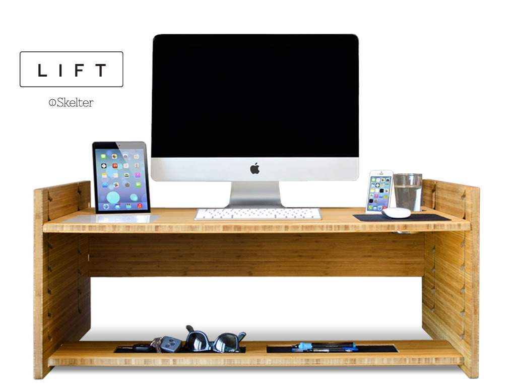 LIFT - Upgrade Your Desk to a Sit-to-Stand Smart-Desk's video poster