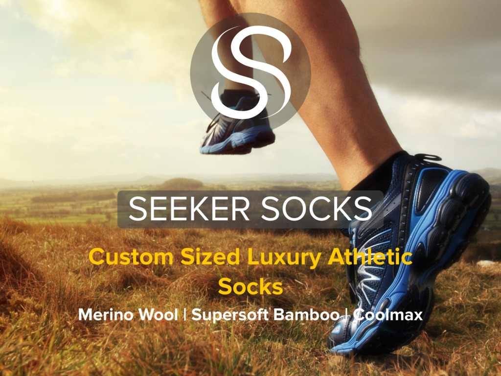 Seeker Socks: Protect Your Feet. Go The Distance.'s video poster