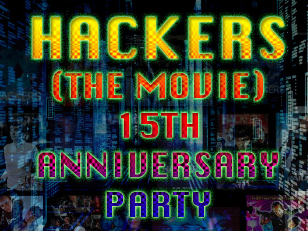 Hackers (the movie) 15th Anniversary Party on Oct 2nd's video poster