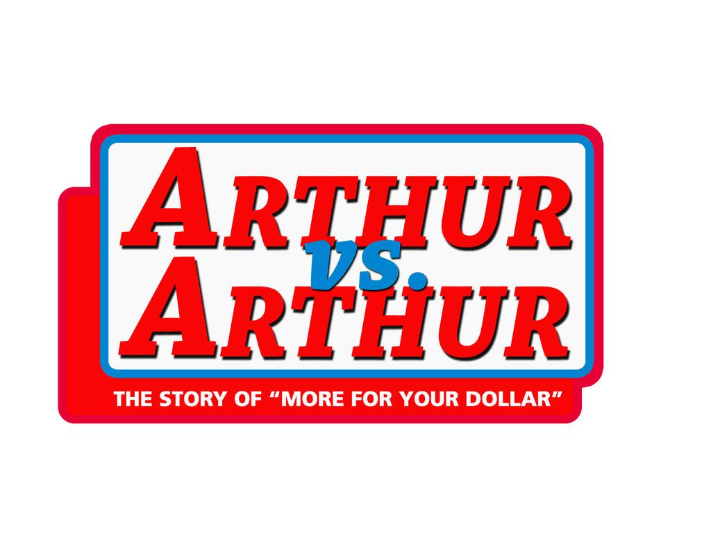 Arthur vs. Arthur's video poster