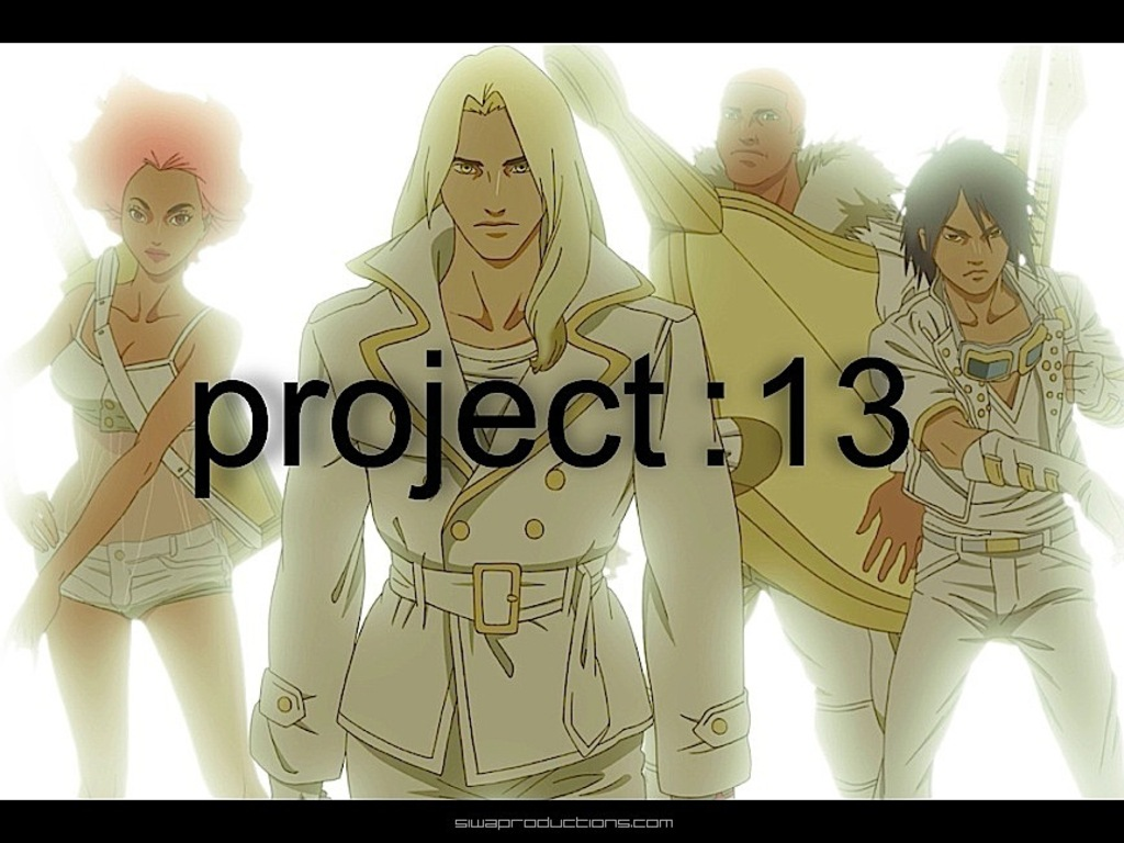 project:13 - a music driven animation trilogy's video poster