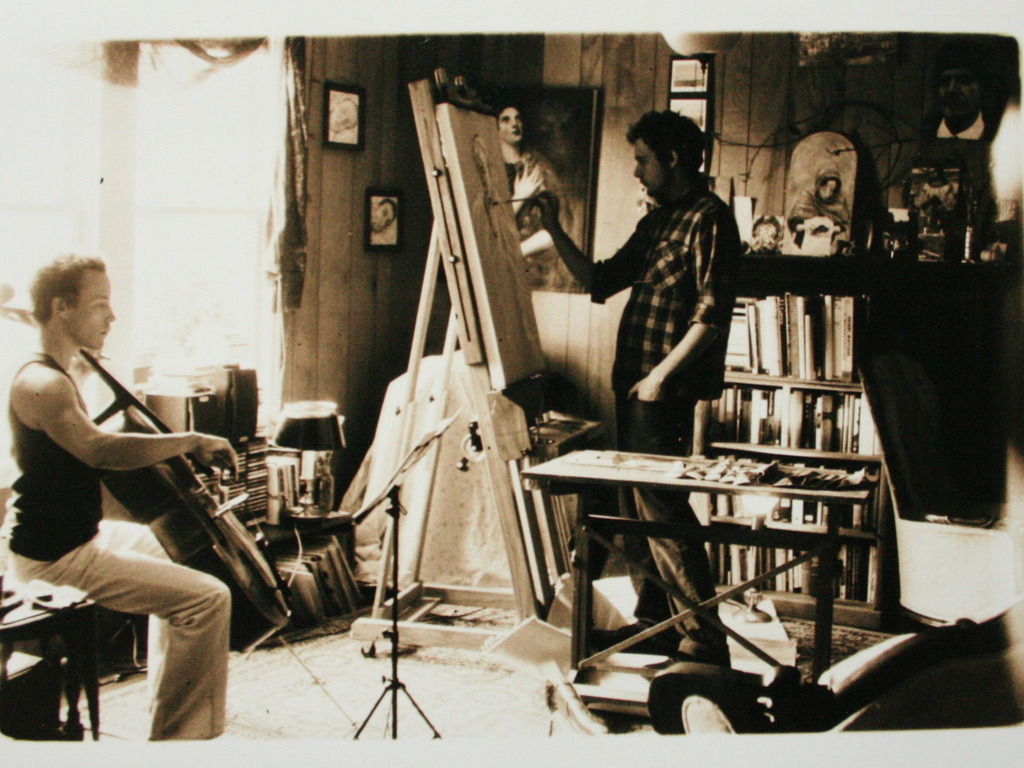 Vermont Studio Residency's video poster