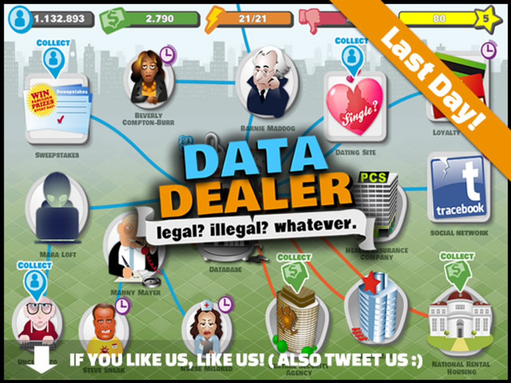 Data Dealer - Legal? Illegal? Whatever.'s video poster