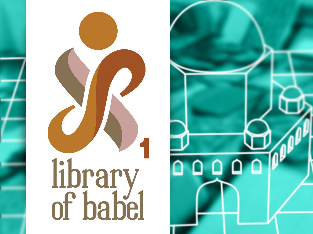 Library of Babel Burning Man Honorarium 2014's video poster