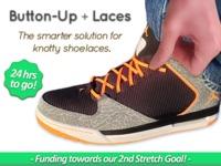 Button-Up + Laces: Quit Tying Knots!