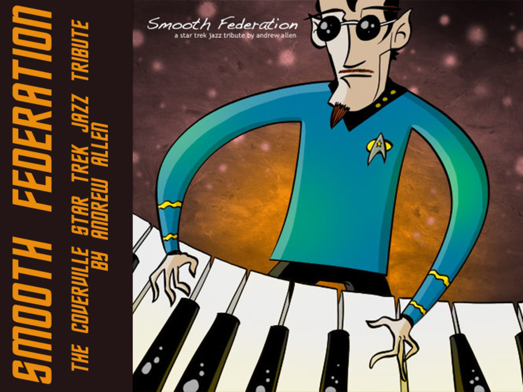 Smooth Federation: An all-jazz Star Trek tribute album's video poster