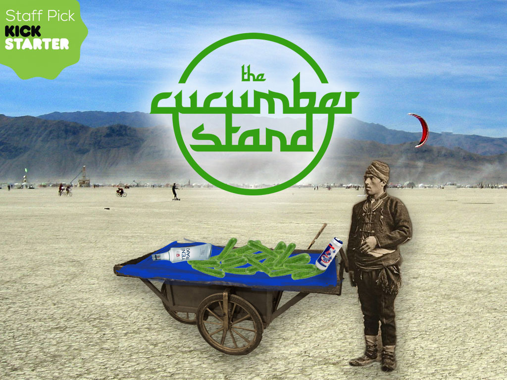 The Cucumber Stand for Burning Man 2014's video poster