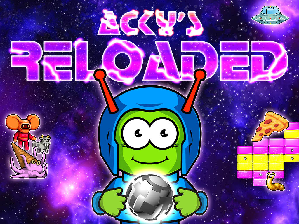 Acky's Reloaded - Breakout Arkanoid Reimagined's video poster