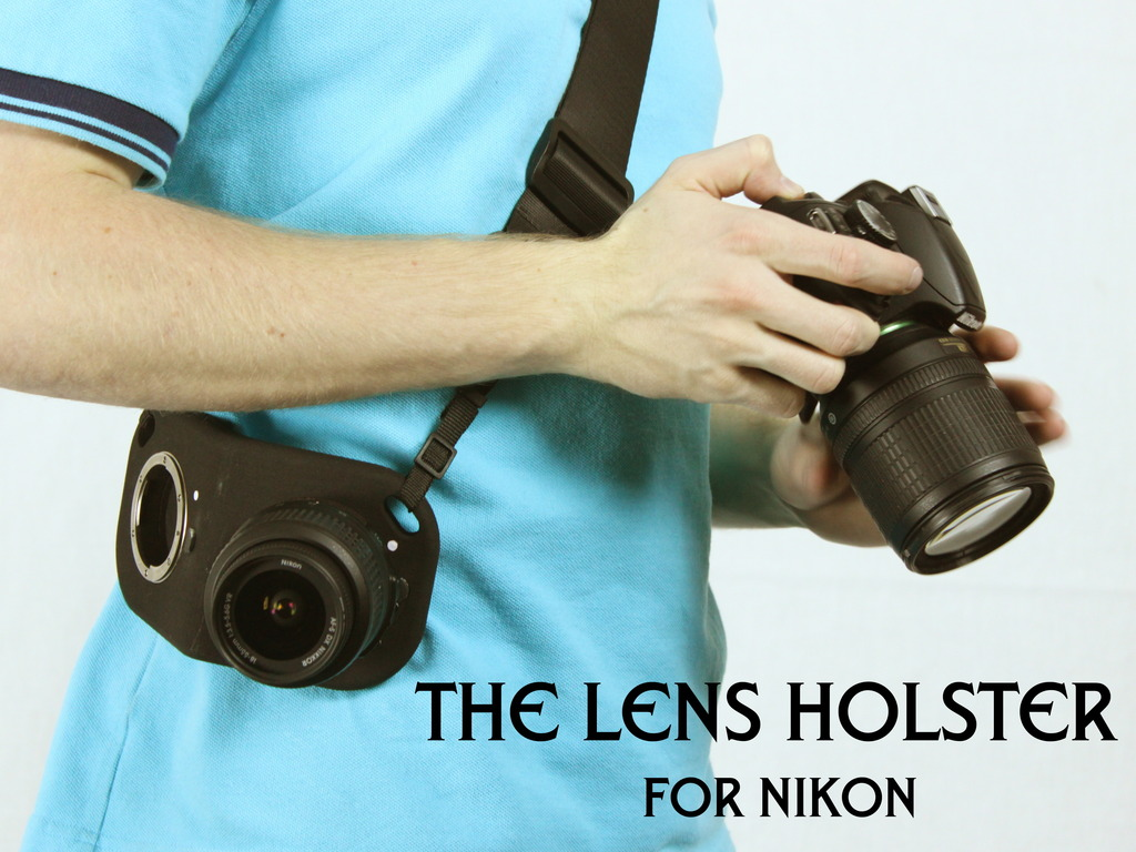 The Lens Holster for Nikon!'s video poster