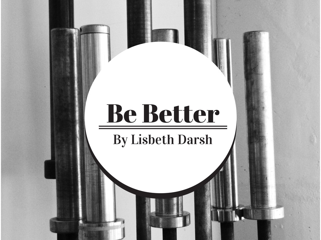 Be Better: A Book by Lisbeth Darsh's video poster